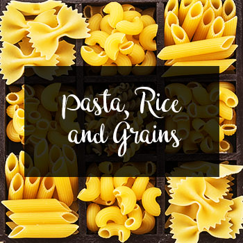 Pasta, Rice And Grains