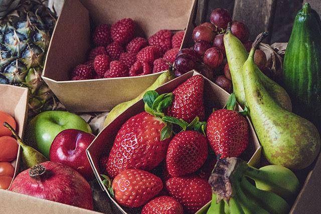 Fruit Drop Boxes