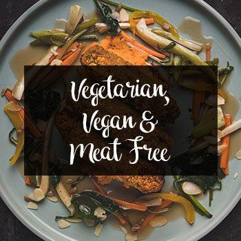 Vegetarian, Vegan & Meat Free