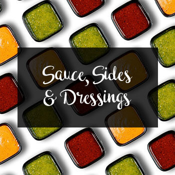 Sauce, Sides & Dressings
